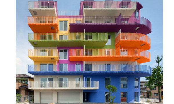 12栋缤纷的彩虹建筑 - 就是设计图片